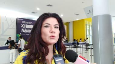 Raquel Garavito, directora de Fontur