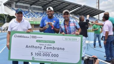 $100 millones a Anthony Zambrano para hacer realidad la casa que tanto anhela