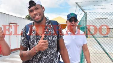 """En video   """"Yo dije que este era mi año"""": Anthony Zambrano a su llegada a Barranquilla"""
