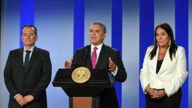 Duque urge al Congreso ampliar Ley de Víctimas diez años más