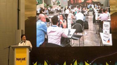 El vicepresidente de Turismo de ProColombia, Gilberto Salcedo, entregó un balance de la rueda de negocios.