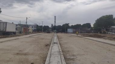 Terminan pavimentación de conexión de Murillo con la calle 30, a través de la carrera 4