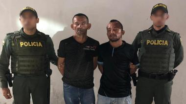 Policía captura dos presuntos atracadores de buses en Barranquilla