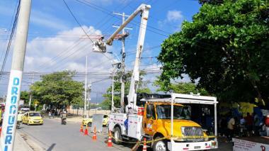 15 barrios de Barranquilla estarán sin luz este miércoles por adecuaciones en redes