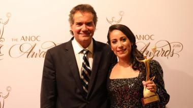 Mariana Pajón, 'Mejor Deportista Femenina' de los Juegos Panamericanos 2019