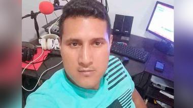 Javier Córdoba Chaguendo, el periodista asesinado.