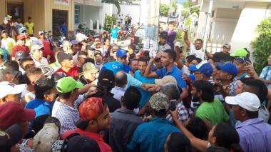Sincé vivió una tarde de tensión por un rumor de fraude electoral