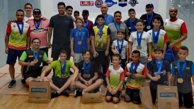 El Barranquilla Open de ráquetbol terminó exitoso