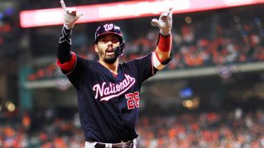 Nacionales 12, Astros 3: ¡A batazo limpio!
