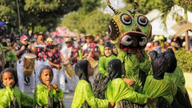 Carnaval del recuerdo en Baranoa.