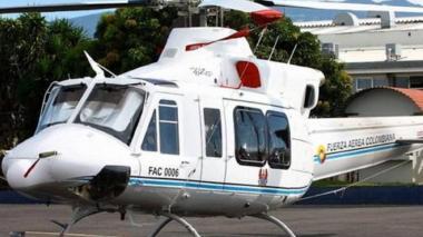 FAC continúa con la búsqueda del helicóptero presidencial