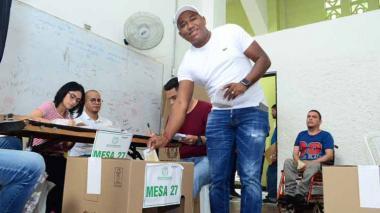 Gersel Pérez, el diputado con más votos en Atlántico de estas elecciones