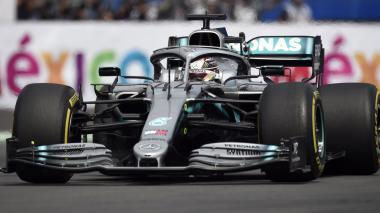 Hamilton gana el Gran Premio de México y queda a un paso de ser campeón