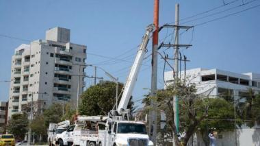 A las 6 p.m. se restablecerá totalmente la energía en sectores del norte: Electricaribe
