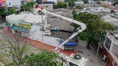 Circuito Malvinas y Ciudad Jardín estarán sin luz este martes por obras