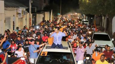 """""""En nuestro gobierno, Valledupar volverá a ser la sorpresa Caribe"""": Mello Castro"""