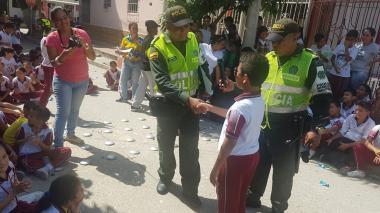 La actividad realizada por la Policía de Infancia y Adolescencia benefició a 480 niños, niñas y adolescentes.