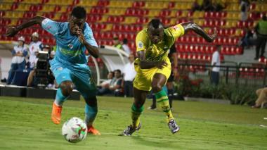 Jaguares derrota 1-0 a Huila y sigue en la primera división