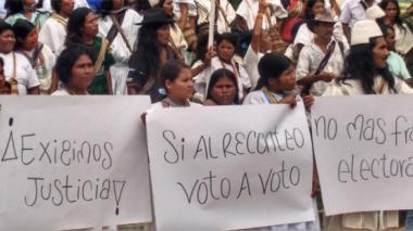 Arhuacos denuncian posible fraude electoral y otras irregularidades en Pueblo Bello, Cesar