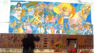 Detrimento patrimonial de $28 millones tras borrar mural 'Tierra de Dioses'
