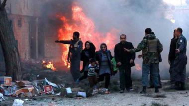 Nueve niños mueren por la explosión de una mina en Afganistán