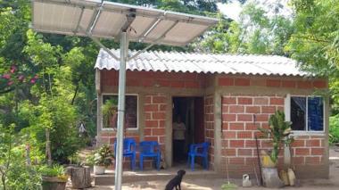 Sistema fotovoltaico en Aracataca, Magdalena.