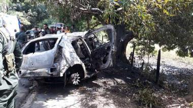 En video   Exceso de velocidad habría sido la causa del accidente del carro incinerado en Córdoba