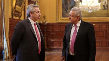 Alberto Fernánde y López Obrador.