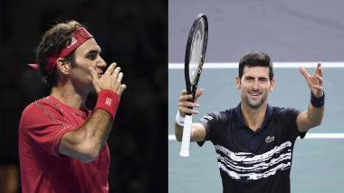 Federer y Djokovic