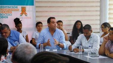 Gobernador electo de La Guajira ratifica su compromiso de sacar a Uniguajira de la crisis