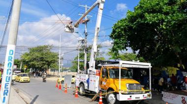 Tres sectores de Barranquilla estarán sin luz por trabajos eléctricos