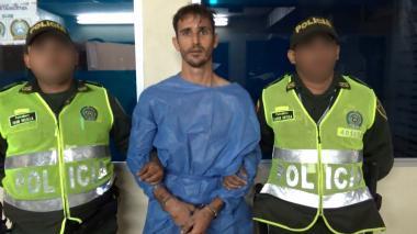 John Joseph Gianino al ser capturado.
