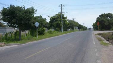 Kilómetro 7 vía Juan Mina.