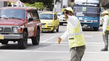 Cierres de vías para el puente festivo por obras y eventos en Barranquilla