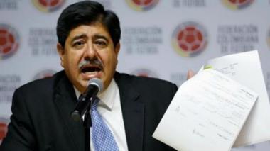 Luis Bedoya, expresidente de la Federación Colombiana de Fútbol.