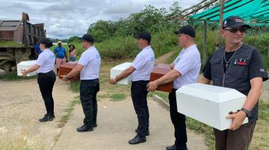 En video   Comienza entrega de restos mortales de las víctimas de la masacre de Bojayá
