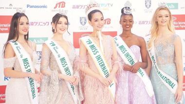 Colombia llega al top 5 en Miss International