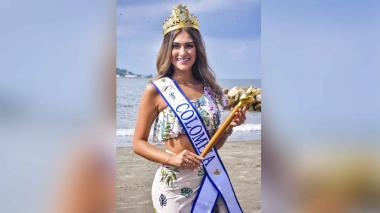 La corona y cetro de la Señorita Colombia rinden homenaje al bicentenario.