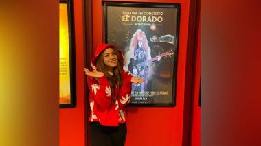 Shakira estrena su primera película sobre su gira 'El Dorado World Tour'