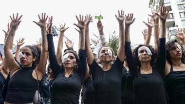 Lesiones oculares y ceguera, marcas indelebles de las protestas en Chile