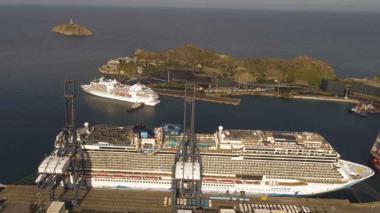10.000 turistas de cruceros, a los pies de Santa Marta