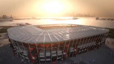 Este será uno de los estadios en donde se jugará el mundial de Qatar 2022.