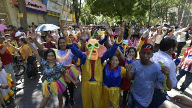 En video | Miles de manifestantes se concentraron en el Paseo Bolívar