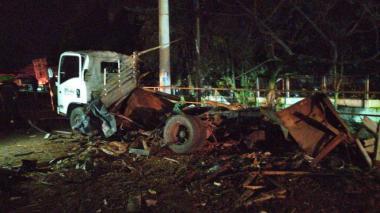 Aumentan a cuatro las víctimas mortales por carro bomba en Cauca