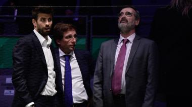 """La Copa Davis """"es un éxito absoluto"""", dice Gerard Piqué"""