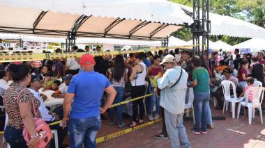 Feria en Santa Marta atendió a más de 1.800 migrantes