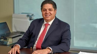 El presidente del Banco Serfinanza Gian Piero Celia.