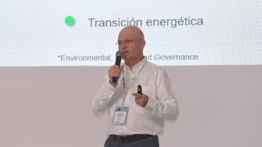 Alberto Consuegra, vicepresidente de Ecopetrol durante el foro Offshore organizado por Eventos El HERALDO.