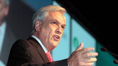 Piñera busca rápida aprobación de protección militar a infraestructuras en Chile