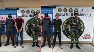 Ejército captura a dos de los más buscados en Córdoba